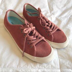 SEAVEES RARE Monterey Sneaker Varsity Suede SZ 7
